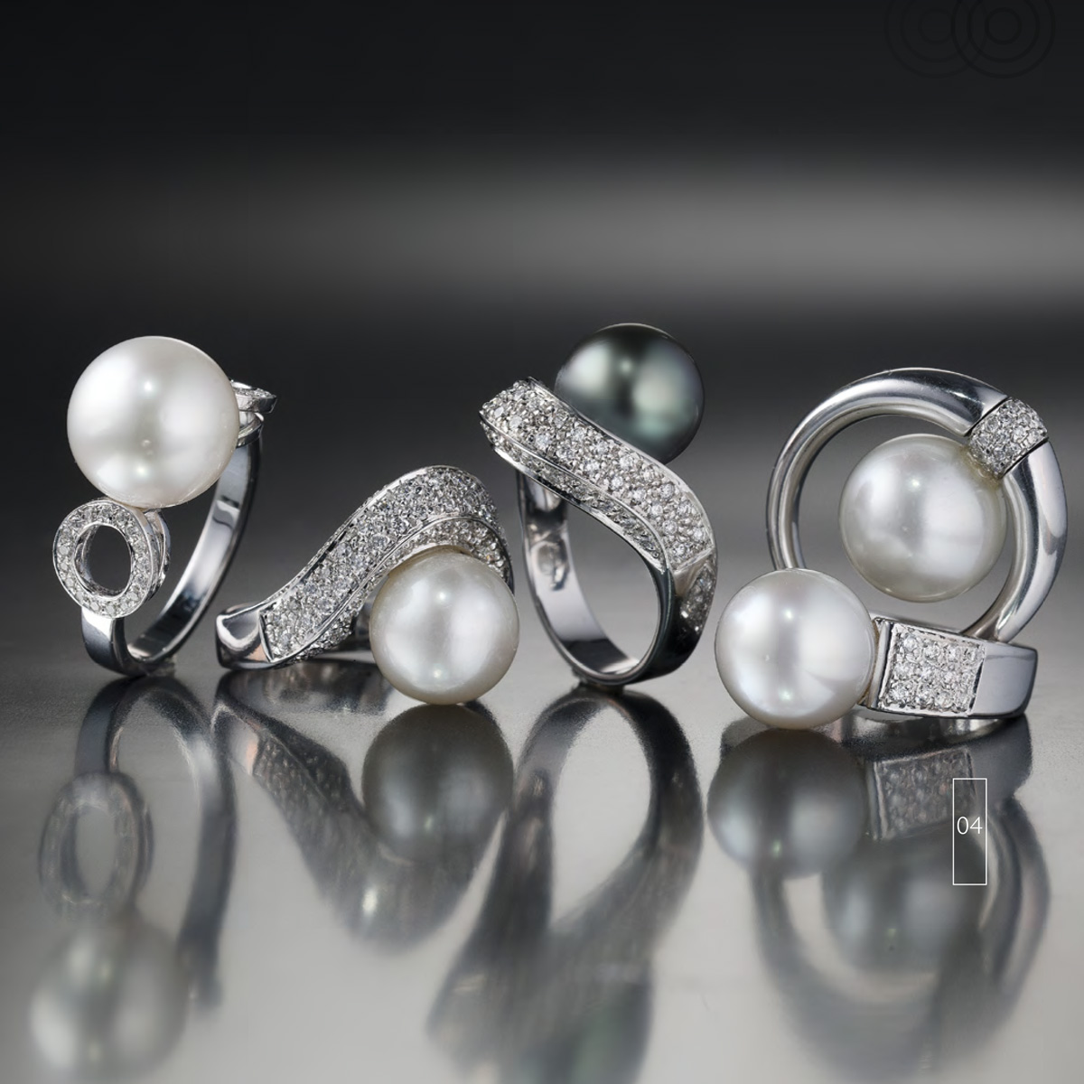 Perle e Diamanti  - Pearls with Diamonds