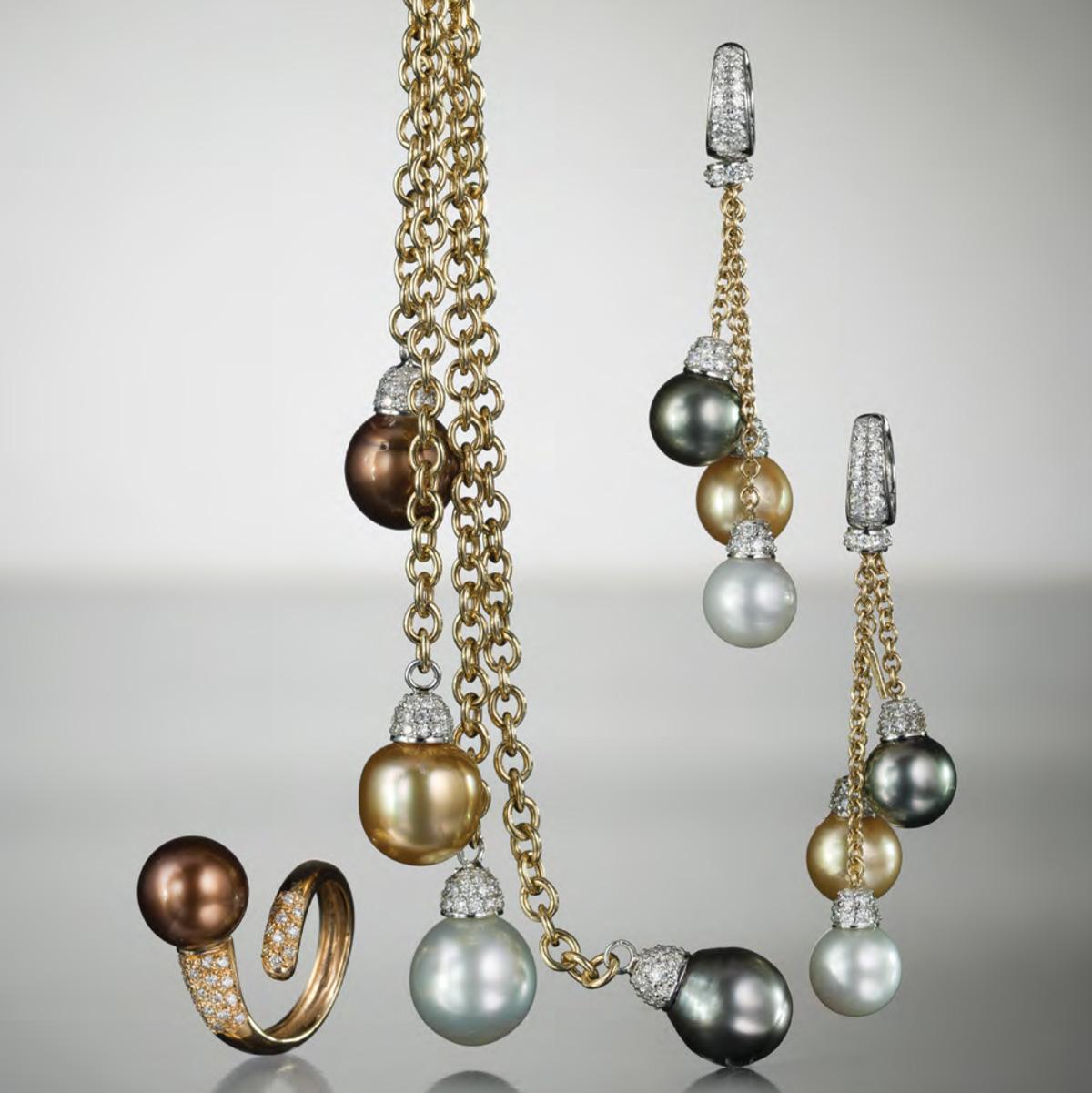 Perle multicolor - Multicolor Pearls