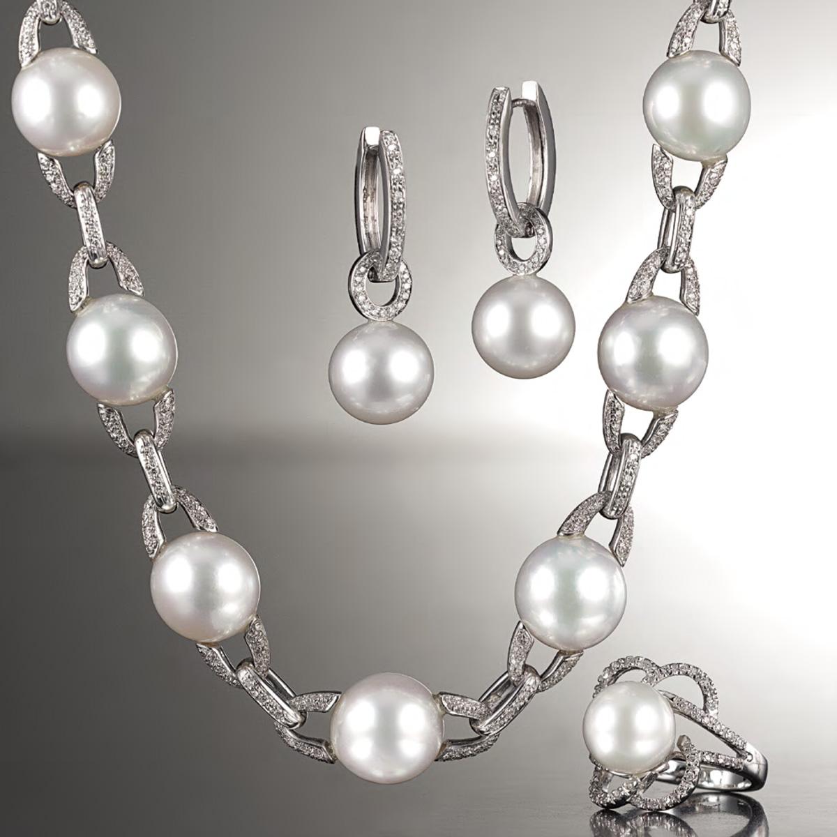 Parure in perle - Pearls parure