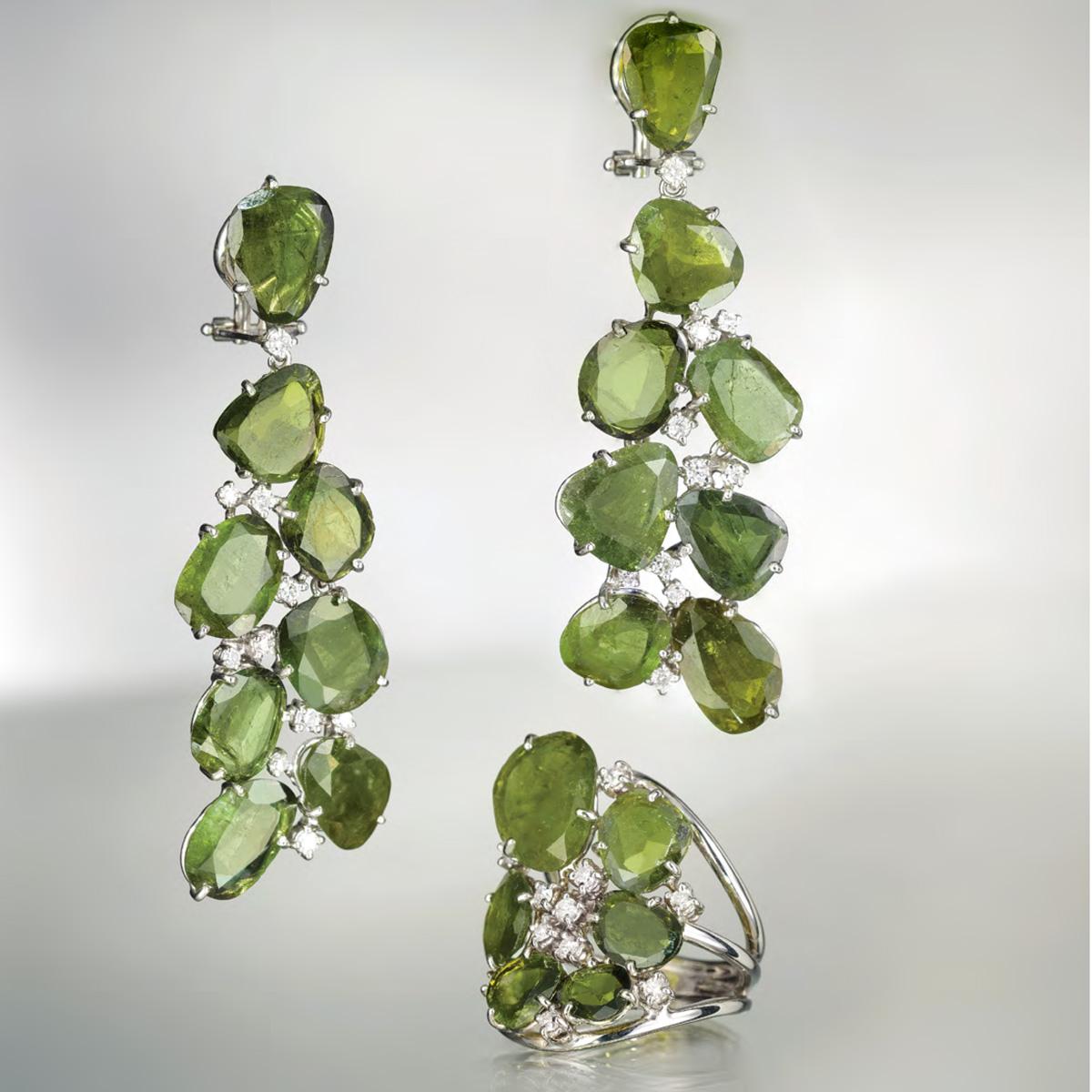Gioielli Tormalina Verde