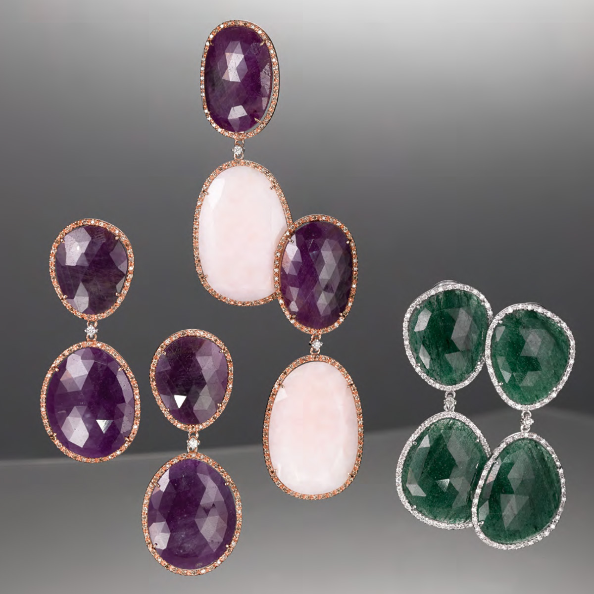 Orecchini Pietre Naturali - Gemstone Earrings