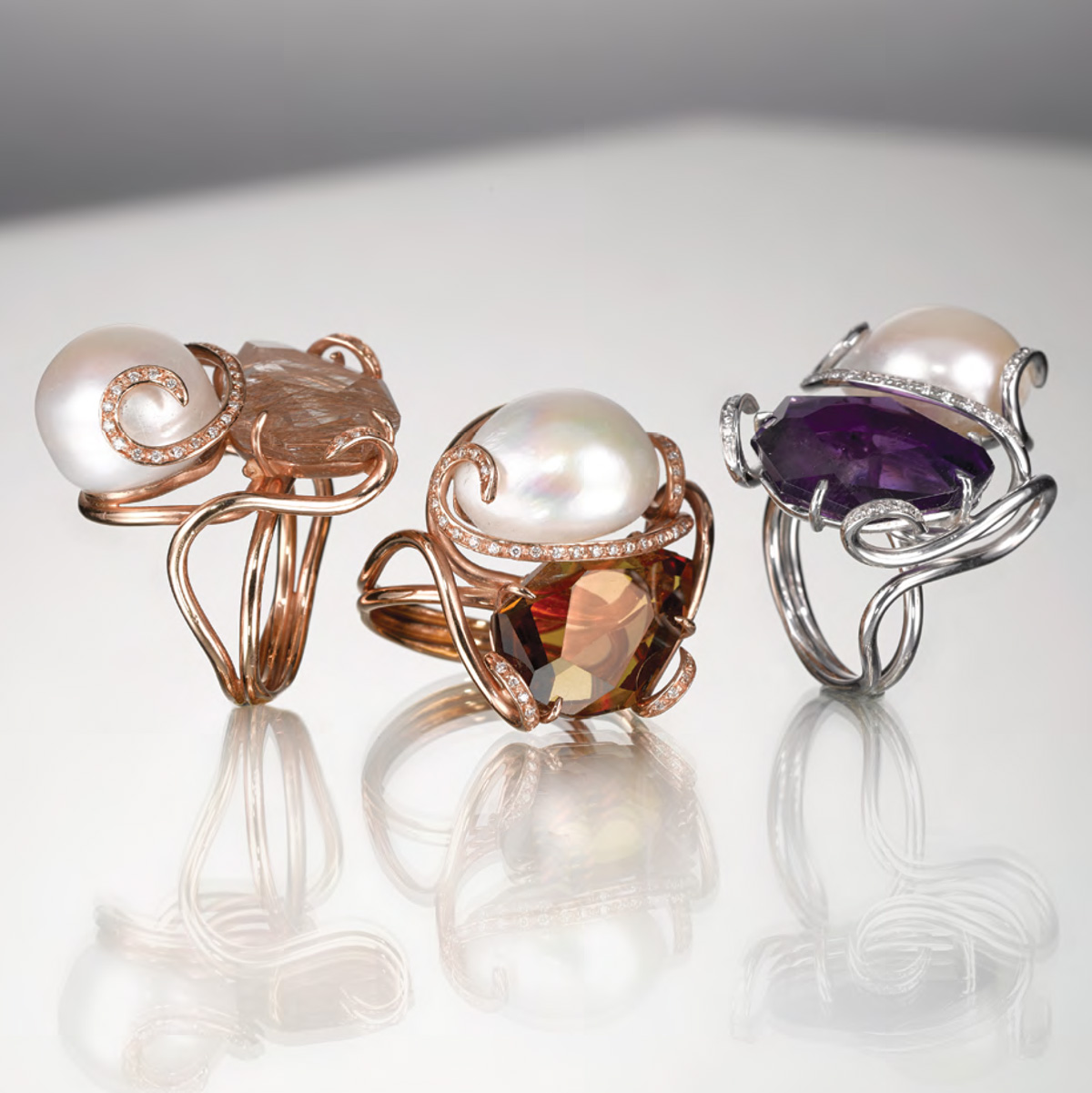 Anelli Pietre Naturali - Gemstone Rings