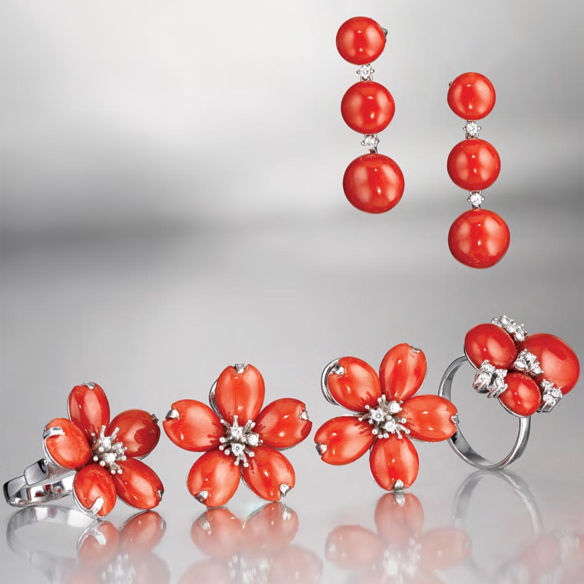 Fiori Corallo Rosso - Red Coral Flowers