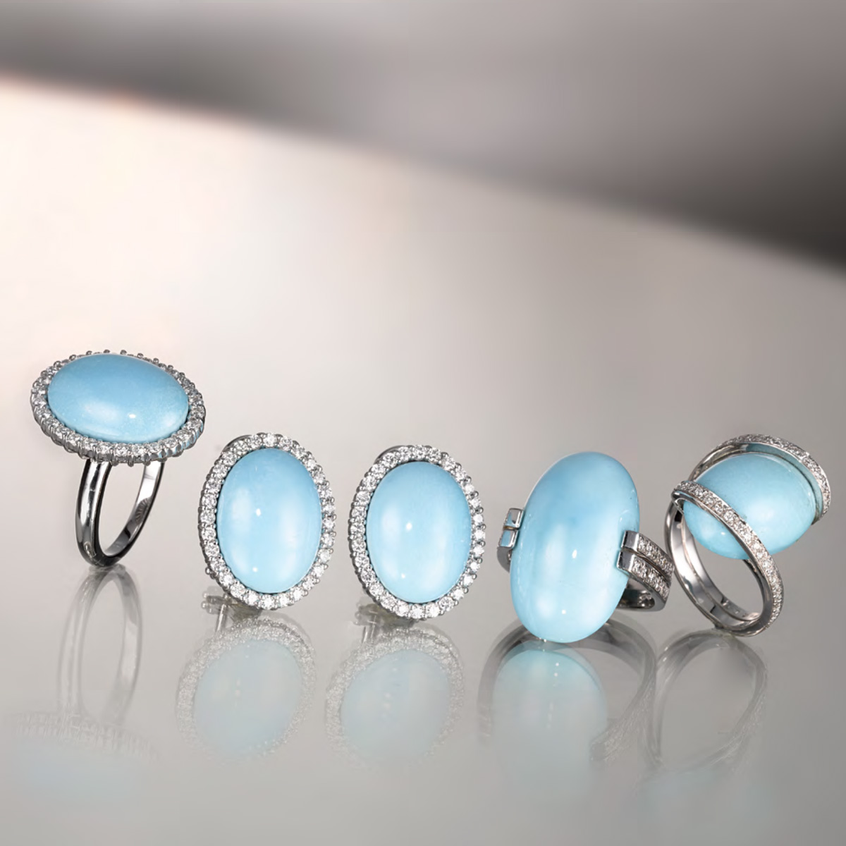 Anelli Turchese - Turquoise rings