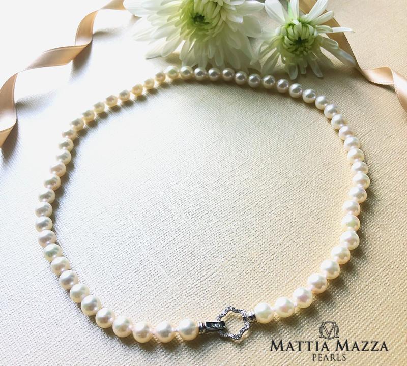 collana perle Akoya Mattia Mazza